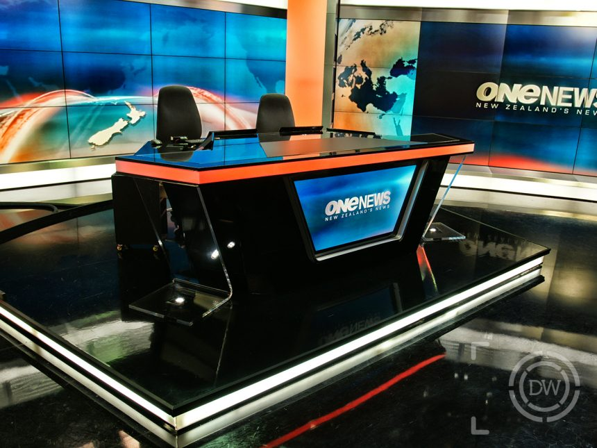 TVNZ News Set